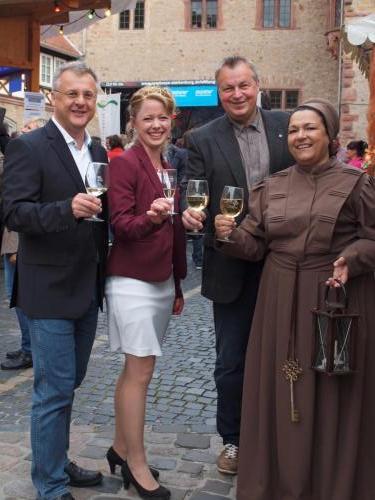 Eröffnung Bergsträßer Weinmarkt Heppenheim