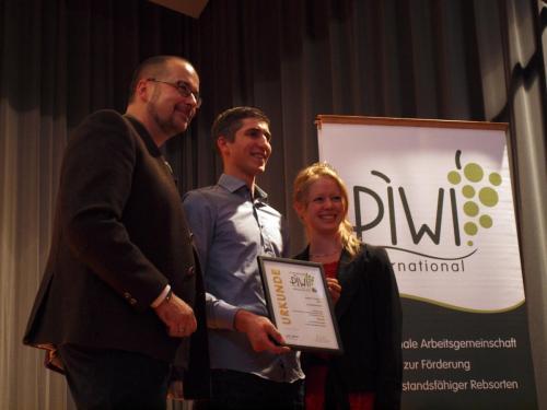 Preisverleihung PiWi-Weinpreis in Weinstadt