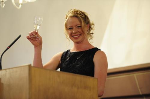 Empfang der Deutschen Weinprinzessin 2017/18 Charlotte Freiberger im Kurfürstensaal