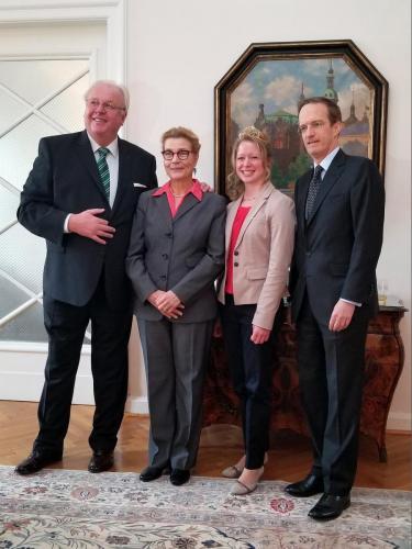 Galadinner in Ankara mit deutschem und französischen Botschafter